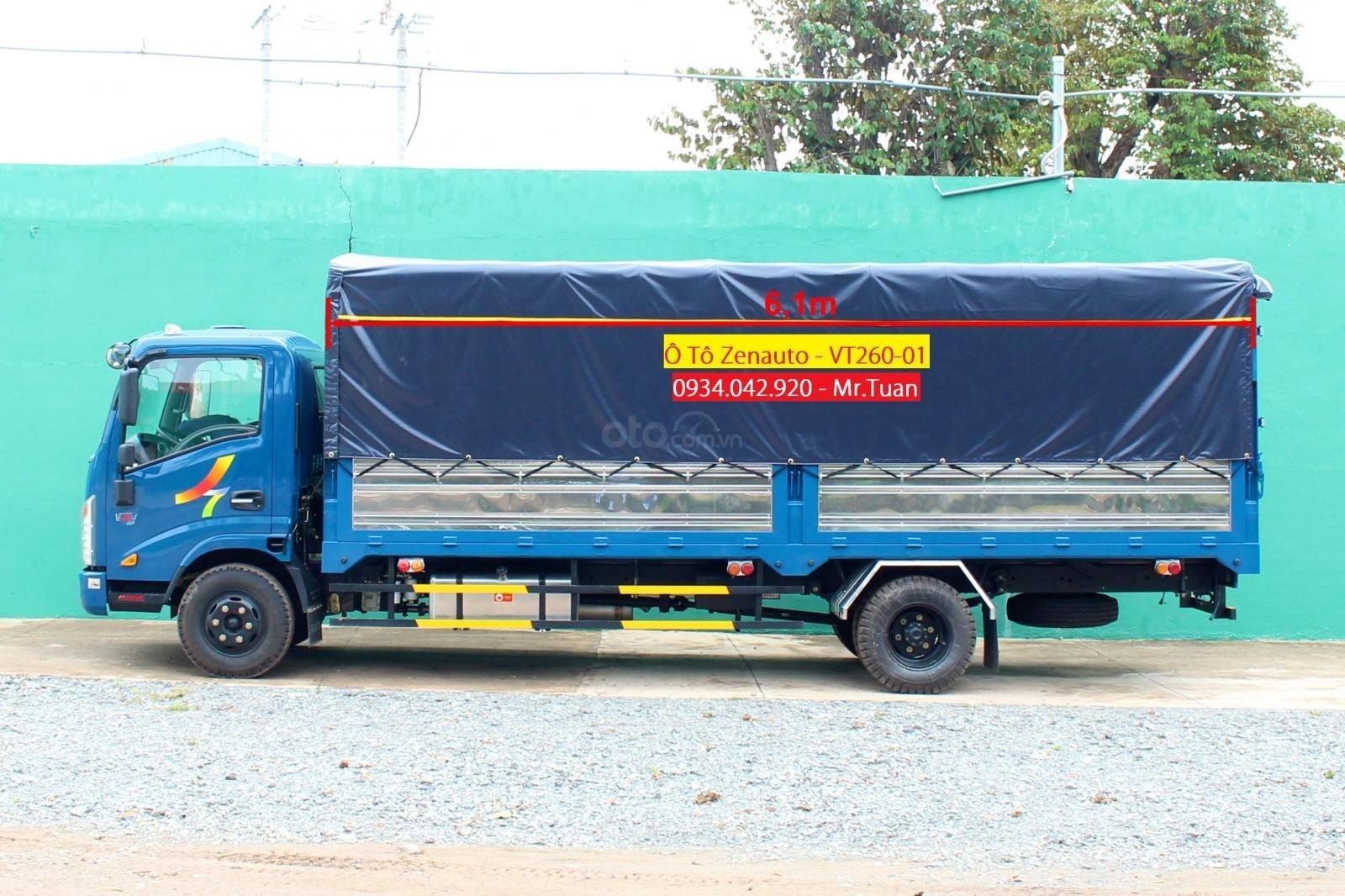 Bán Veam VT260-1 thùng dài 6M1, 1 tấn 9, động cơ Isuzu 2019 (1)