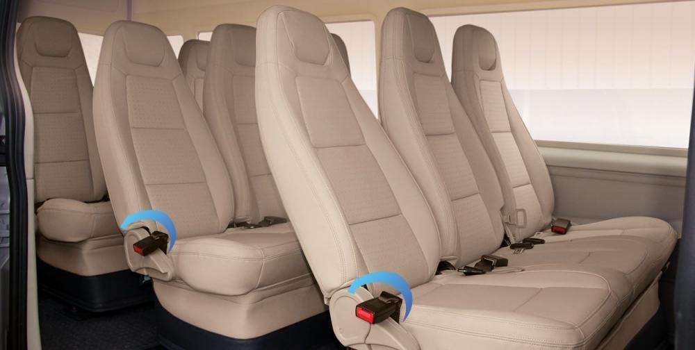 Thông số kỹ thuật xe Ford Transit kèm giá lăn bánh mới nhất 15