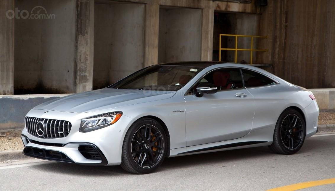 Thân xe Mercedes-AMG S 63 Coupe 2019