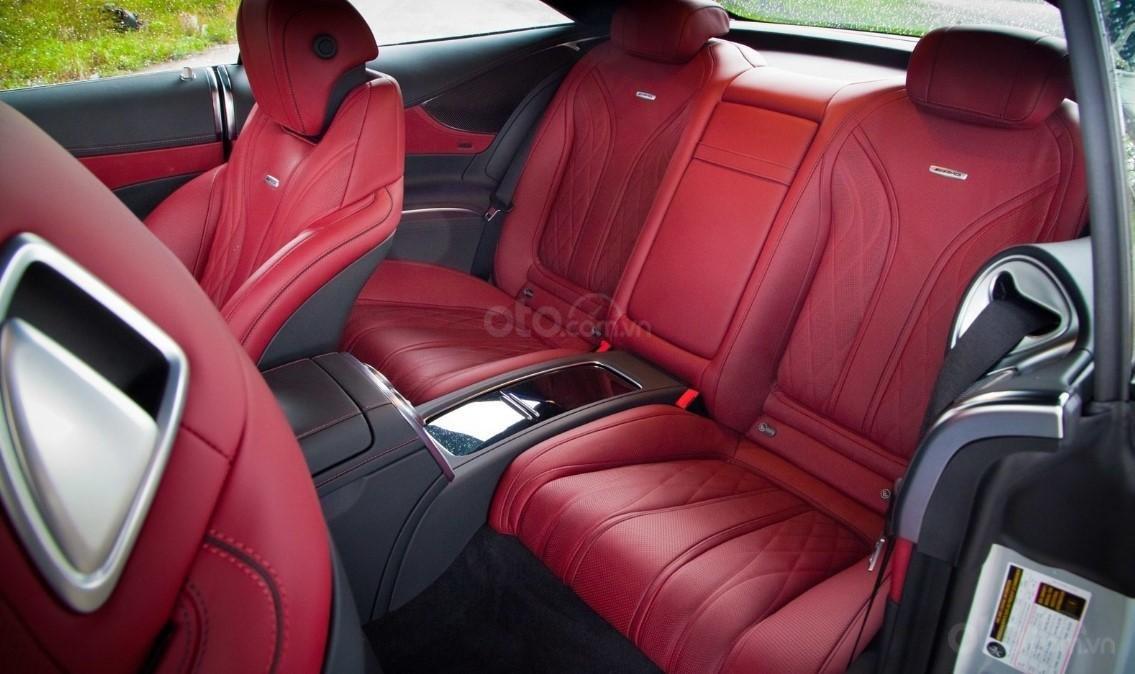 Đánh giá xe Mercedes-AMG S 63 Coupe 2019.