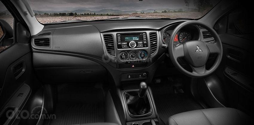 Mitsubishi Triton 2019 single cab có tính đa nhiệm cao