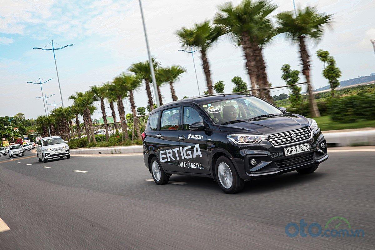 Đánh giá xe Suzuki Ertiga 2019: Vận hành mượt mà và êm ái mới là thế mạnh của mẫu xe này.