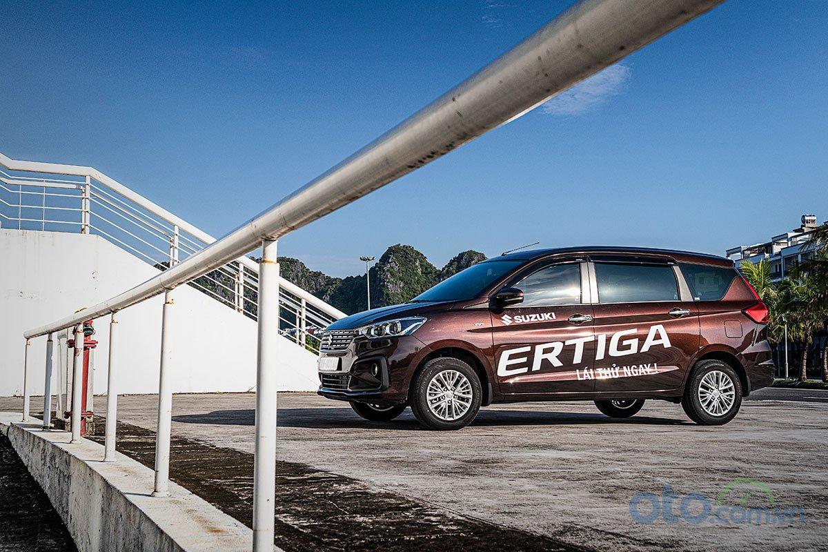 Đánh giá xe Suzuki Ertiga 2019: Giá bán thấp đang mang lại lợi thế cho mẫu xe này.