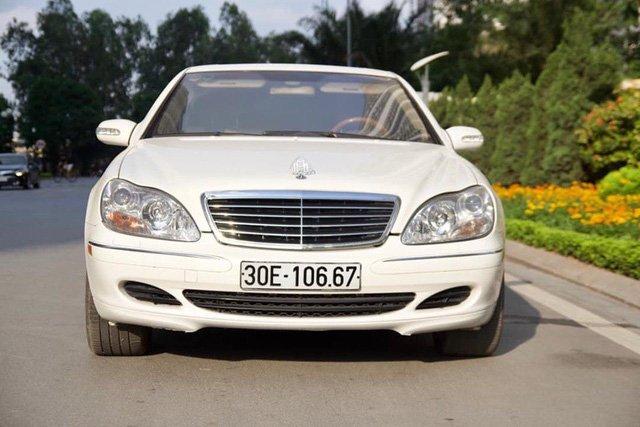 """Mercedes-Benz S-Class 2003 """"giữ dáng"""" kỹ như hoa hậu vẫn mất giá sau 16 năm sử dụng a1"""