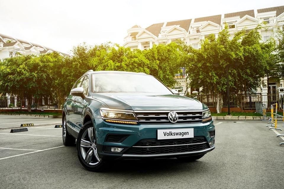 Volkswagen Tiguan Allspace Luxury 2019, phiên bản giới hạn, quà tặng 40 triệu -1