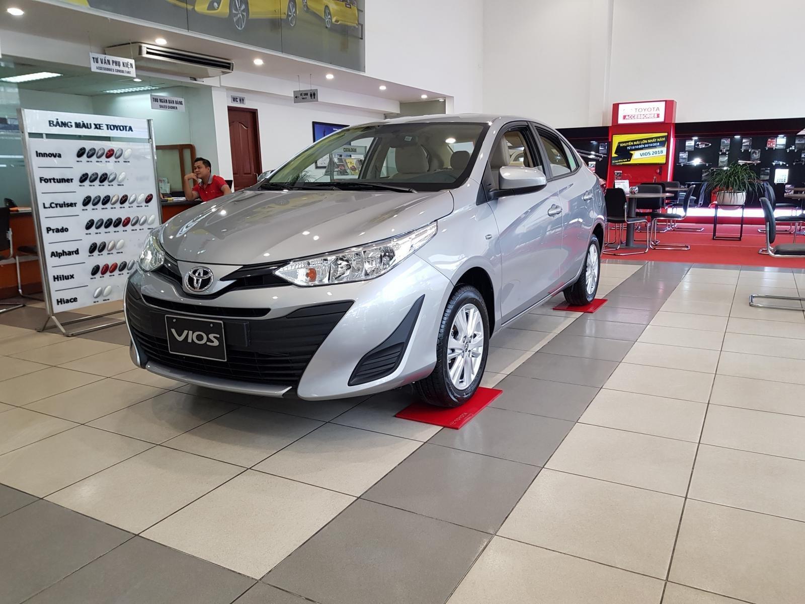 """""""Hot"""" Toyota Vios 1.5E MT khuyến mãi """"Khủng"""" tại Toyota Lý Thường Kiệt, hỗ trợ góp 80%, đủ màu giao ngay (3)"""