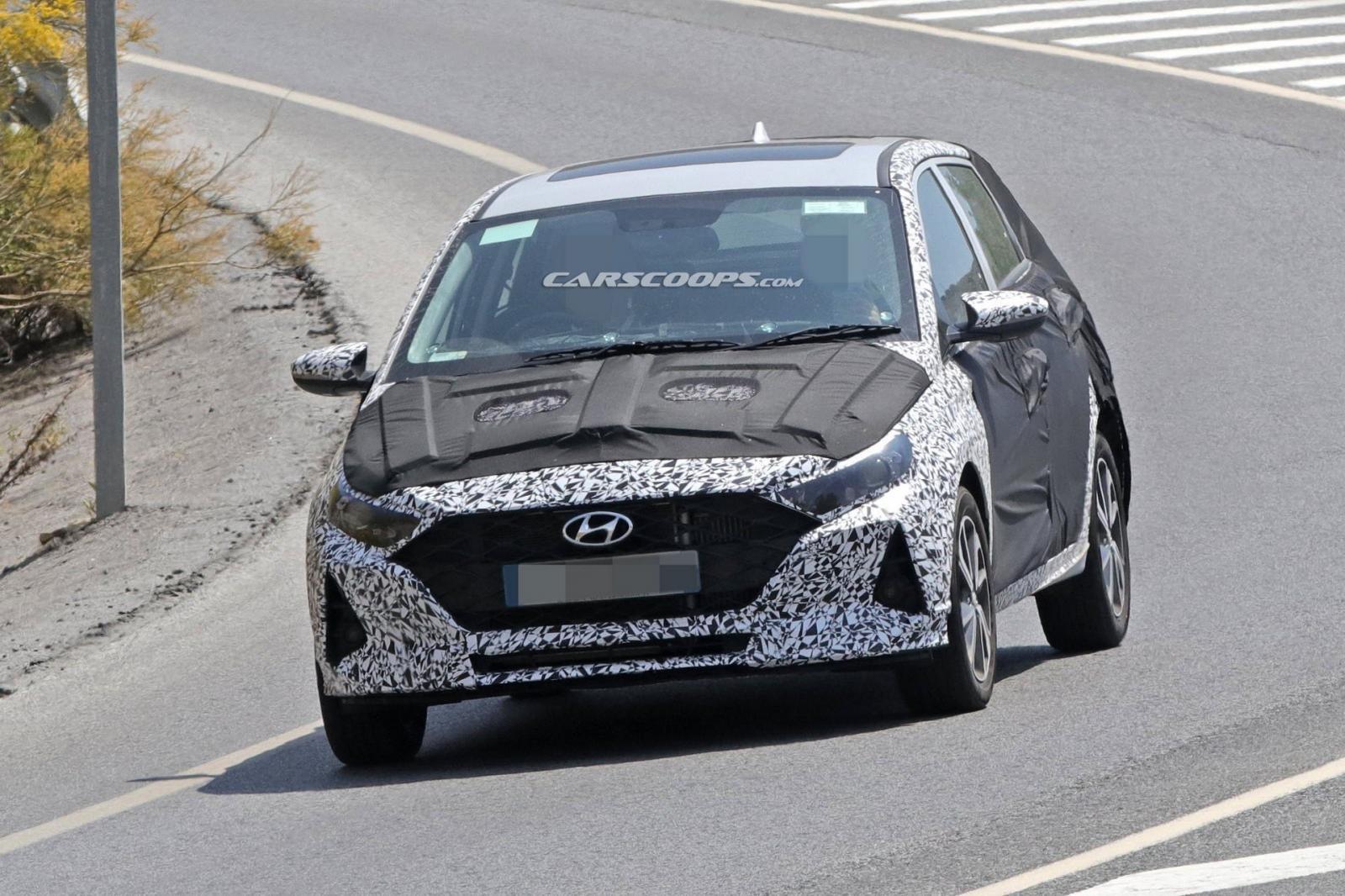 Hyundai i20 2020 chuẩn bị ra mắt cuối năm nay mang dáng vóc như Elantra 3a
