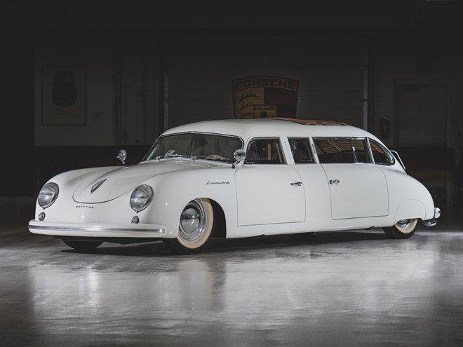 Porsche 356 bản Limousine của nhà sưu tập quá cố được bán đấu giá 3a