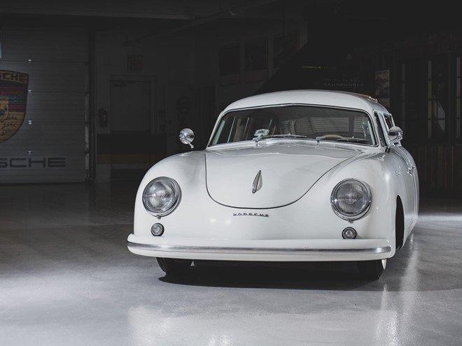 Porsche 356 bản Limousine của nhà sưu tập quá cố được bán đấu giá 1a