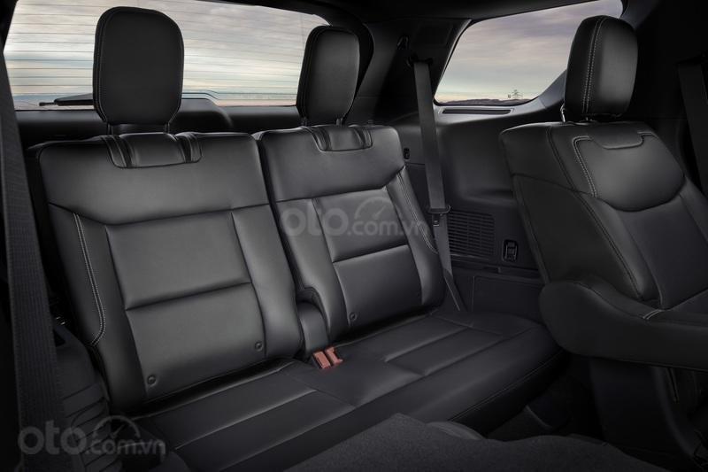 Hàng ghế sau của Ford Explorer 2020