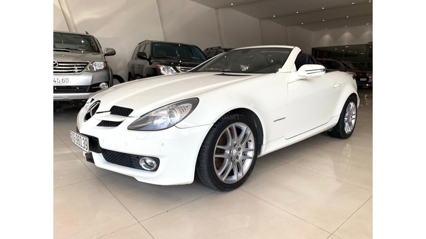 Mercedes SLK 200, màu trắng, xe nhập, trả trước chỉ từ 285 triệu (2)