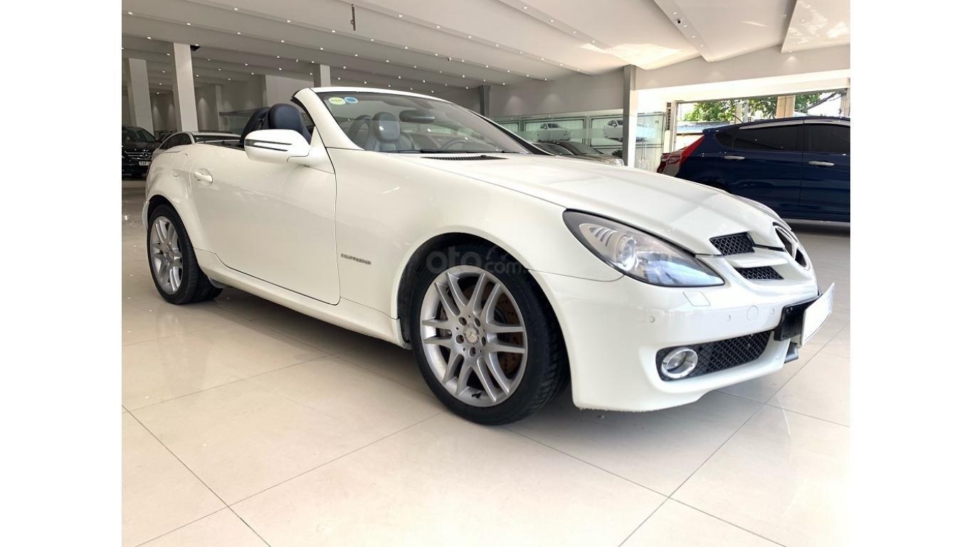 Mercedes SLK 200, màu trắng, xe nhập, trả trước chỉ từ 285 triệu (3)
