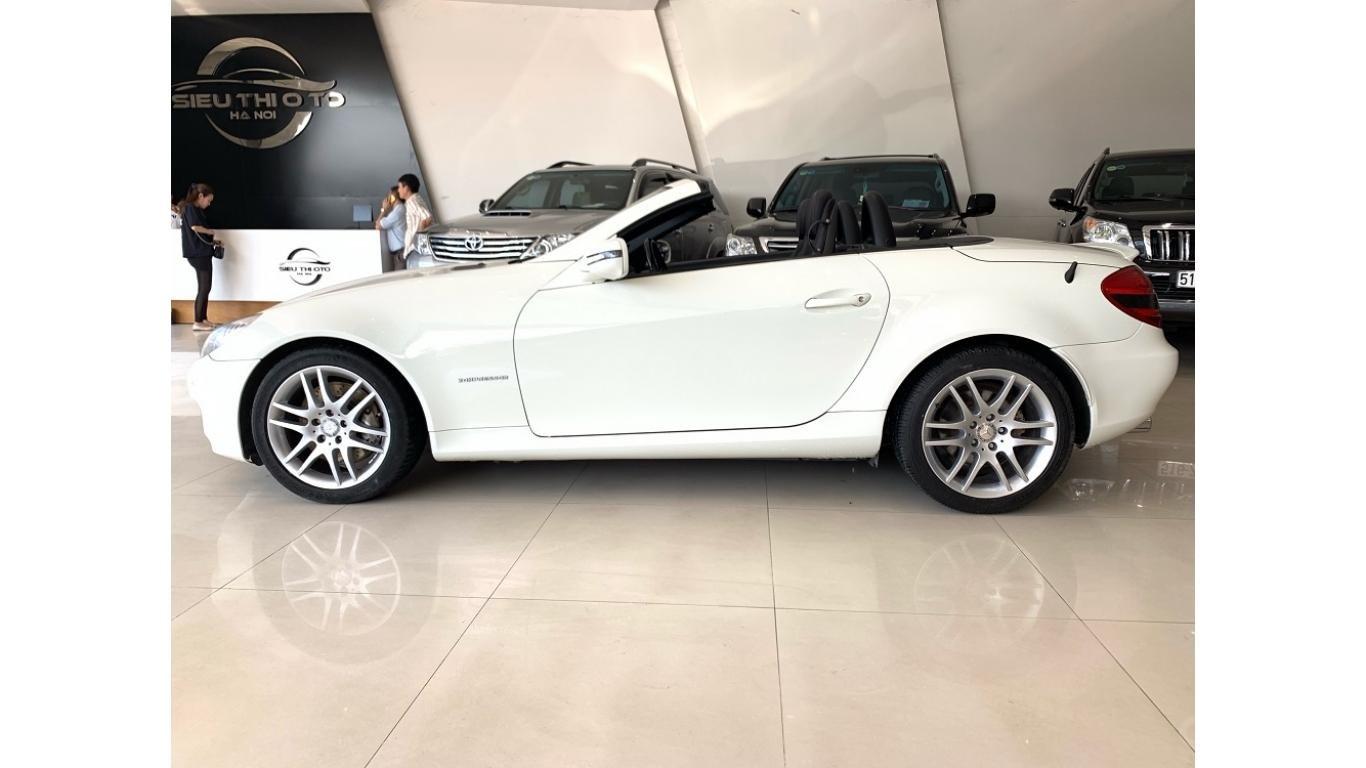 Mercedes SLK 200, màu trắng, xe nhập, trả trước chỉ từ 285 triệu (4)