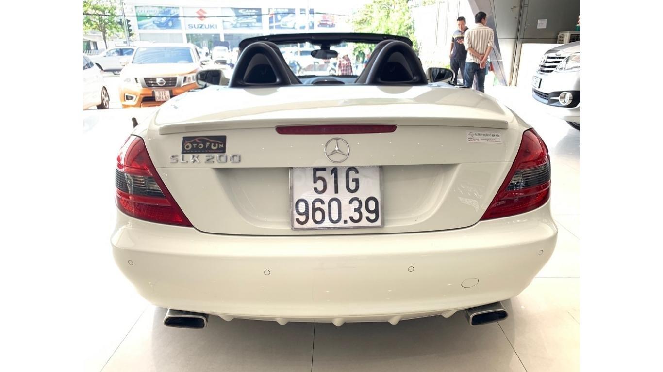 Mercedes SLK 200, màu trắng, xe nhập, trả trước chỉ từ 285 triệu (5)