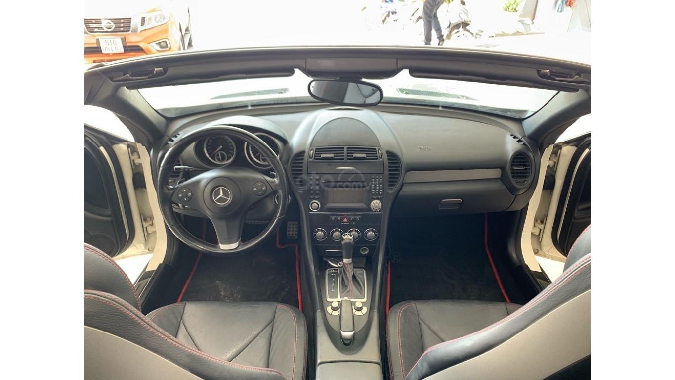 Mercedes SLK 200, màu trắng, xe nhập, trả trước chỉ từ 285 triệu (7)