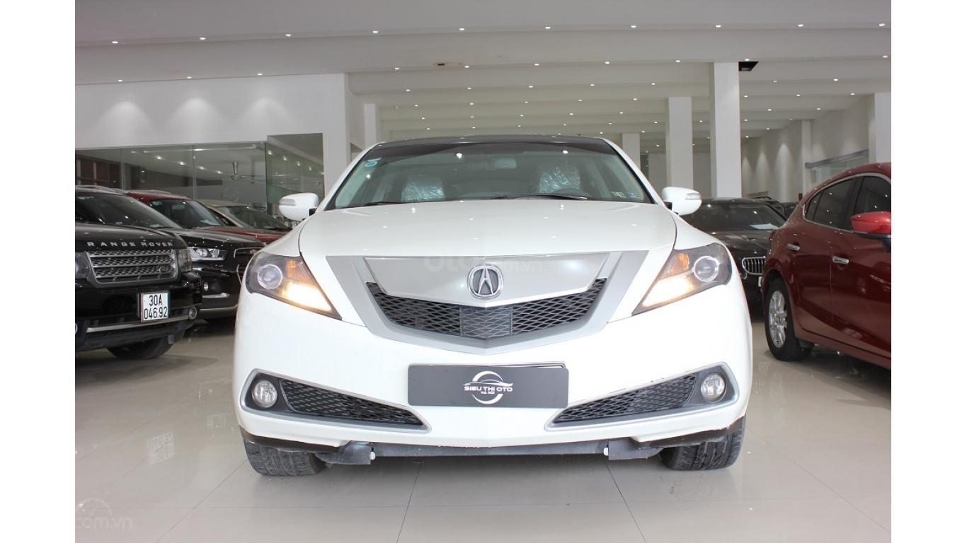 Bán xe Acura ZDX 2009, màu trắng, xe nhập khẩu, trả trước chỉ từ 375 triệu (1)
