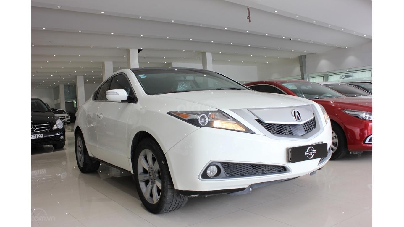 Bán xe Acura ZDX 2009, màu trắng, xe nhập khẩu, trả trước chỉ từ 375 triệu (3)