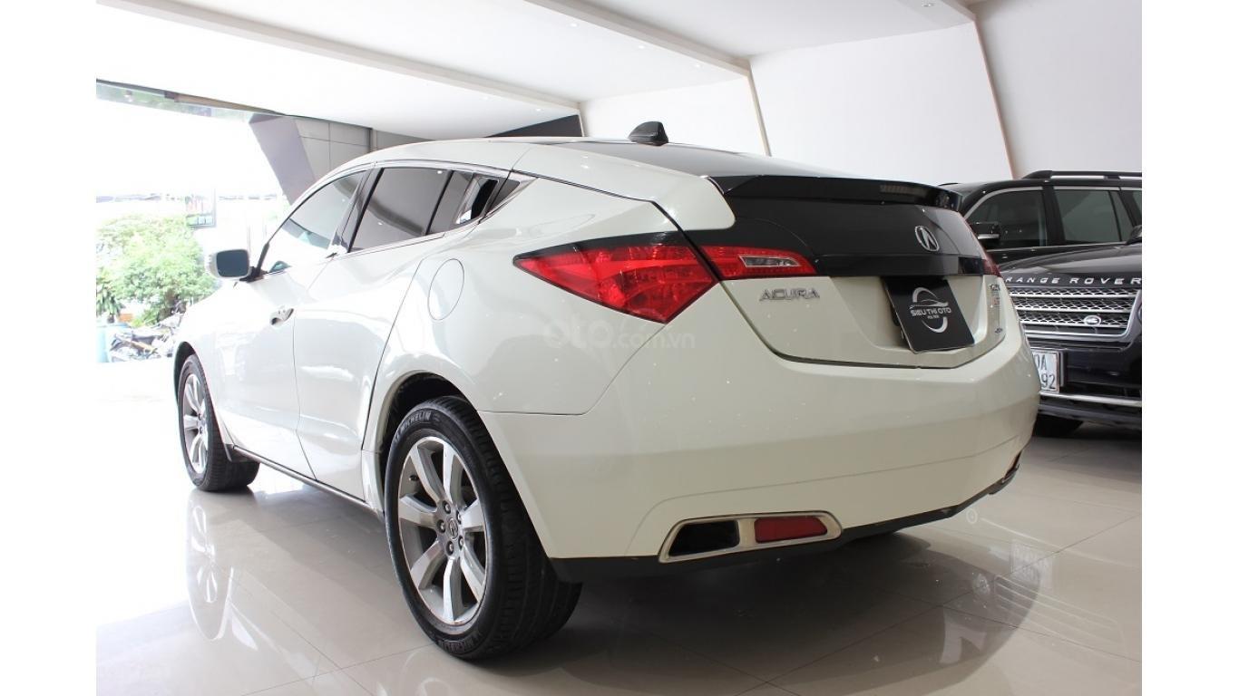 Bán xe Acura ZDX 2009, màu trắng, xe nhập khẩu, trả trước chỉ từ 375 triệu (4)