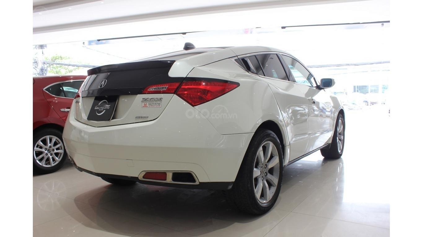 Bán xe Acura ZDX 2009, màu trắng, xe nhập khẩu, trả trước chỉ từ 375 triệu (5)