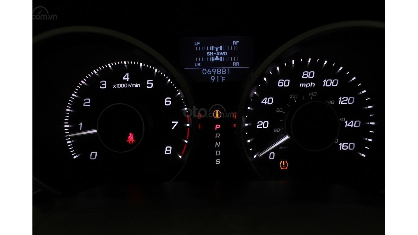 Bán xe Acura ZDX 2009, màu trắng, xe nhập khẩu, trả trước chỉ từ 375 triệu (7)