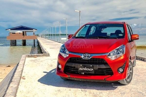 """Bán xe Toyota Wigo 1.2G AT 2019, khuyến mãi cực """"khủng"""" tại Toyota Lý Thường Kiệt, hỗ trợ góp 85%, xe đủ màu giao ngay (6)"""