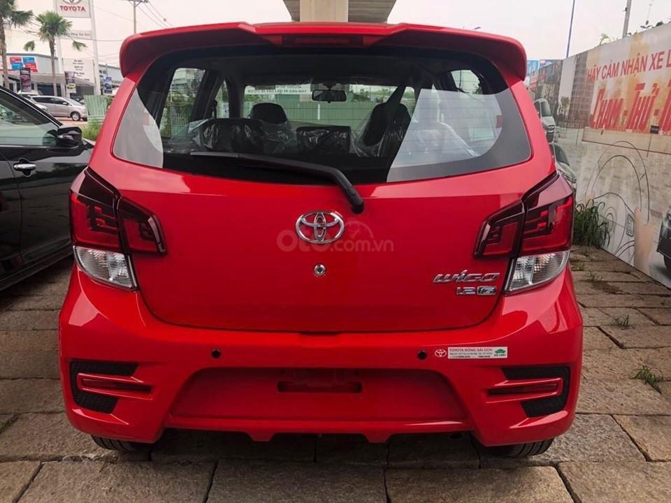 """Bán xe Toyota Wigo 1.2G AT 2019, khuyến mãi cực """"khủng"""" tại Toyota Lý Thường Kiệt, hỗ trợ góp 85%, xe đủ màu giao ngay (10)"""