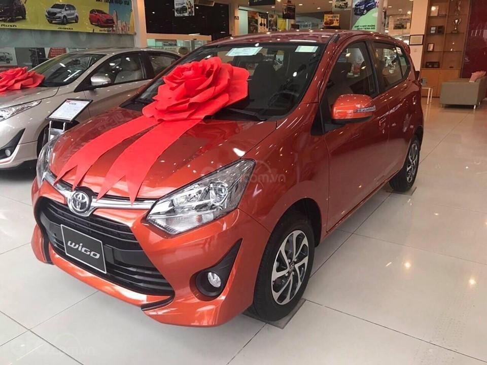 """Bán xe Toyota Wigo 1.2G AT 2019, khuyến mãi cực """"khủng"""" tại Toyota Lý Thường Kiệt, hỗ trợ góp 85%, xe đủ màu giao ngay (1)"""