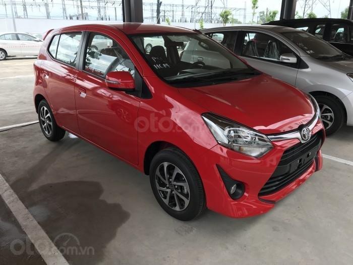 """Bán xe Toyota Wigo 1.2G AT 2019, khuyến mãi cực """"khủng"""" tại Toyota Lý Thường Kiệt, hỗ trợ góp 85%, xe đủ màu giao ngay (4)"""
