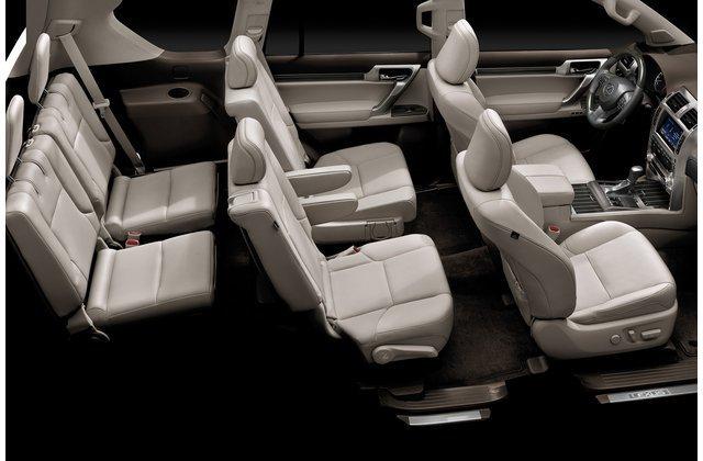Ảnh chụp hệ thống ghế ngồi của Lexus GX 2020.