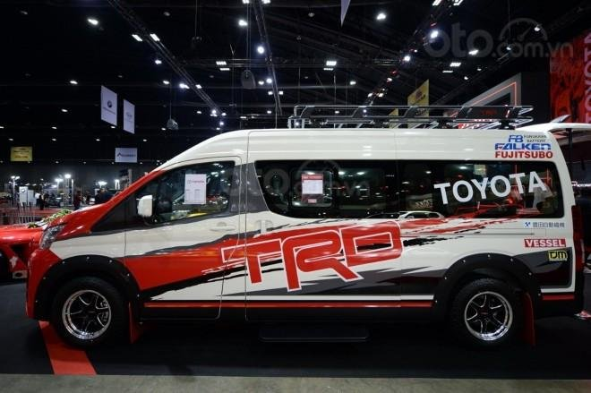 [Bangkok Auto Salon 2019] Toyota Hiace TRD bắt mắt