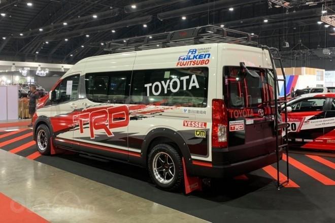 [Bangkok Auto Salon 2019] Toyota Hiace TRD vẫn còn ẩn chứa nhiều điều bất ngờ