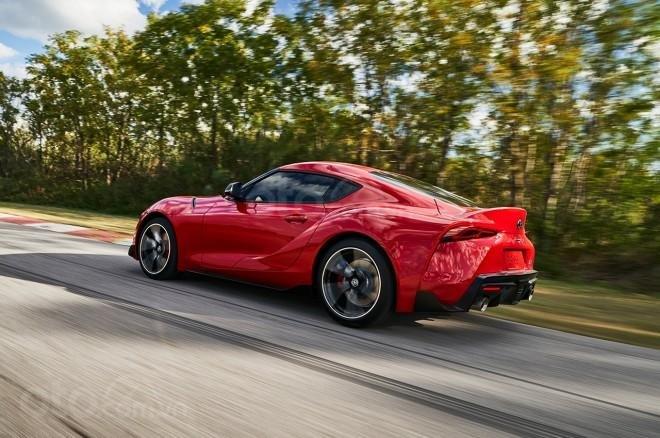 Toyota Supra 2019 giữ vững lối tạo hình truyền thống