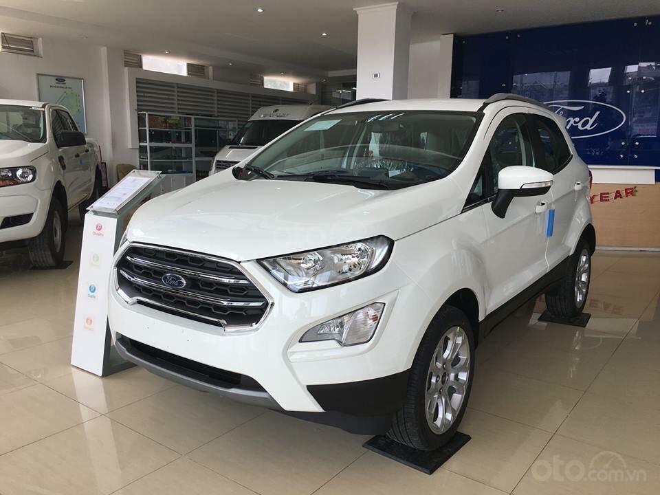 Bán Ford EcoSport Titanium 2019, đủ màu, chỉ với 150tr nhận xe, film, bảo hiểm, camera hành trình. LH 0974286009-1