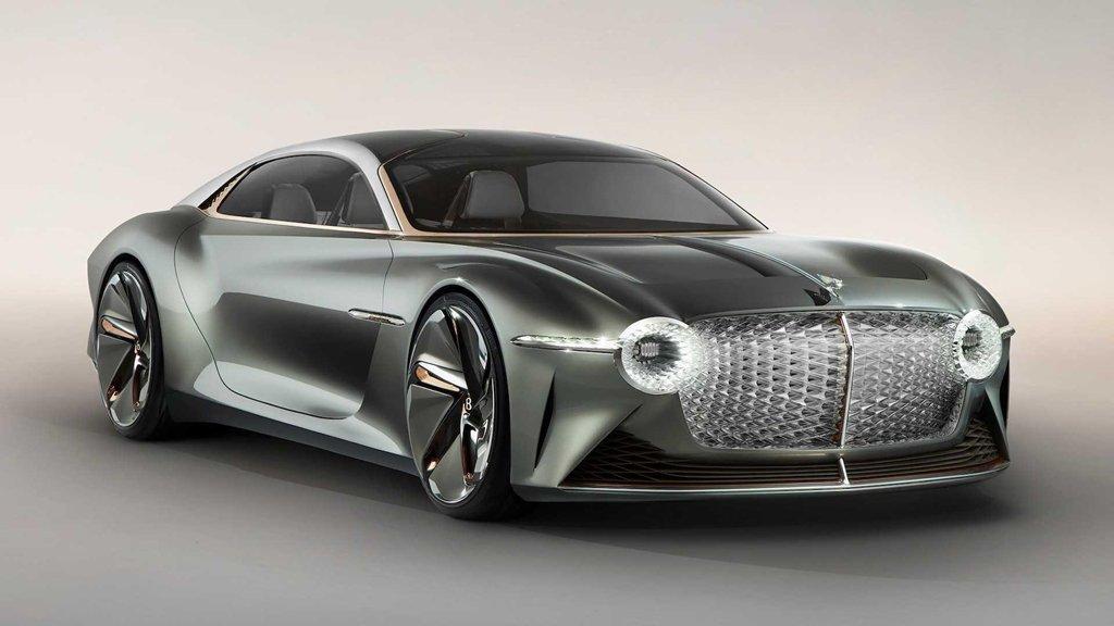 Ngắm xe siêu sang Bentley EXP 100 GT với khoang nội thất tràn ngập vật liệu xanh a1