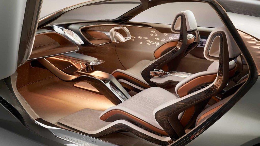 Ngắm xe siêu sang Bentley EXP 100 GT với khoang nội thất tràn ngập vật liệu xanh a4