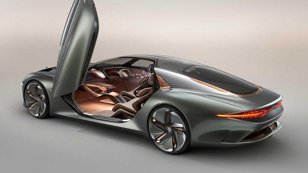Ngắm xe siêu sang Bentley EXP 100 GT với khoang nội thất tràn ngập vật liệu xanh a3