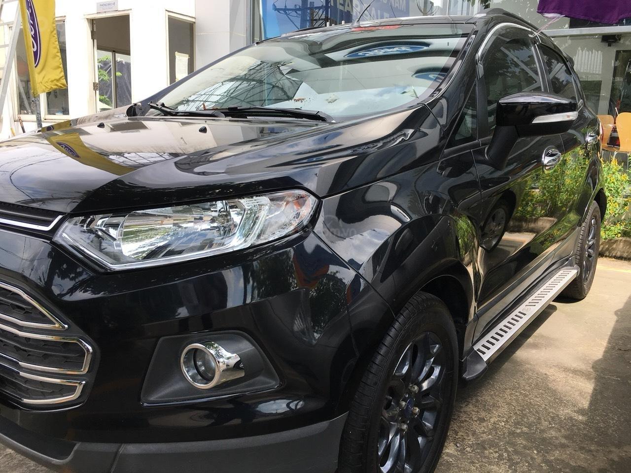 Bán Ford EcoSport 2015 màu đen, biển số thành phố-0