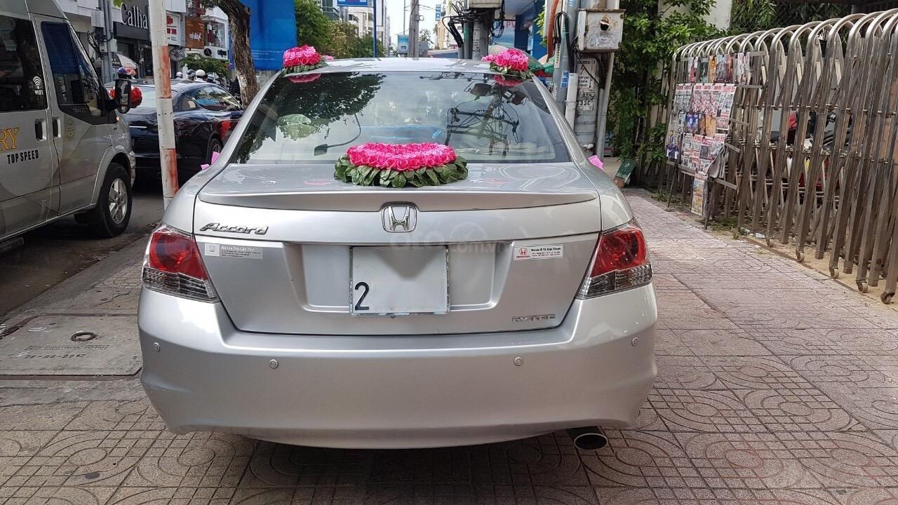 Cần bán gấp Honda Accord Limited 2008, màu bạc, xe nhập-3