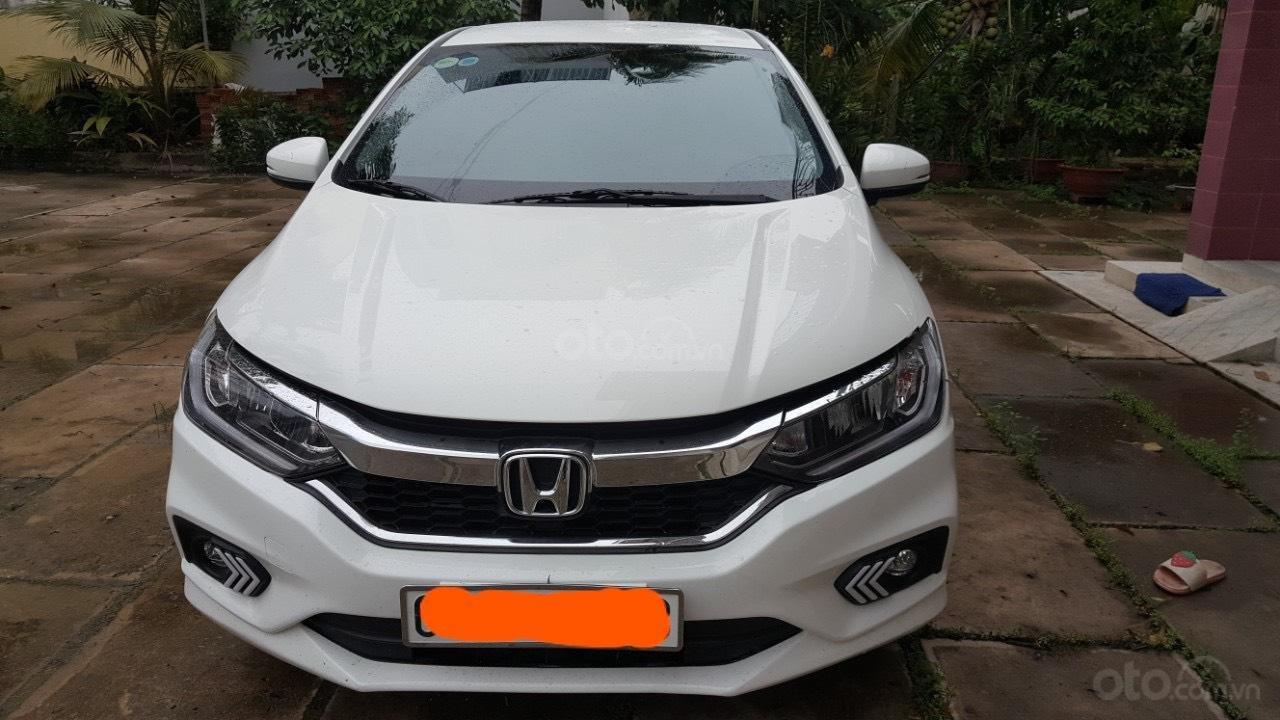 Bán ô tô Honda City 1.5AT TOP đời 2018, màu trắng -0