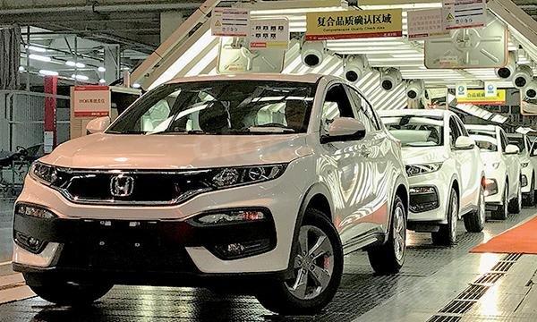 Tổng quan doanh số xe tháng 6/2019 của ô tô Nhật tại Trung Quốc - Honda
