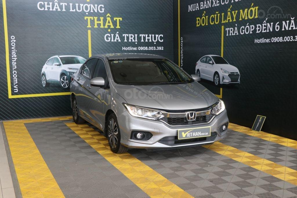 Bán ô tô Honda City top 1.5AT sản xuất năm 2018, màu bạc (4)
