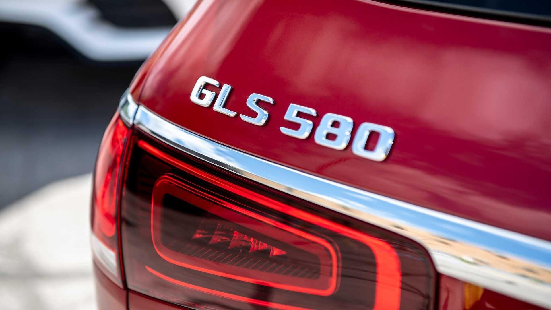 Logo GLS 580 Mercedes-Benz GLS-Class 2020.