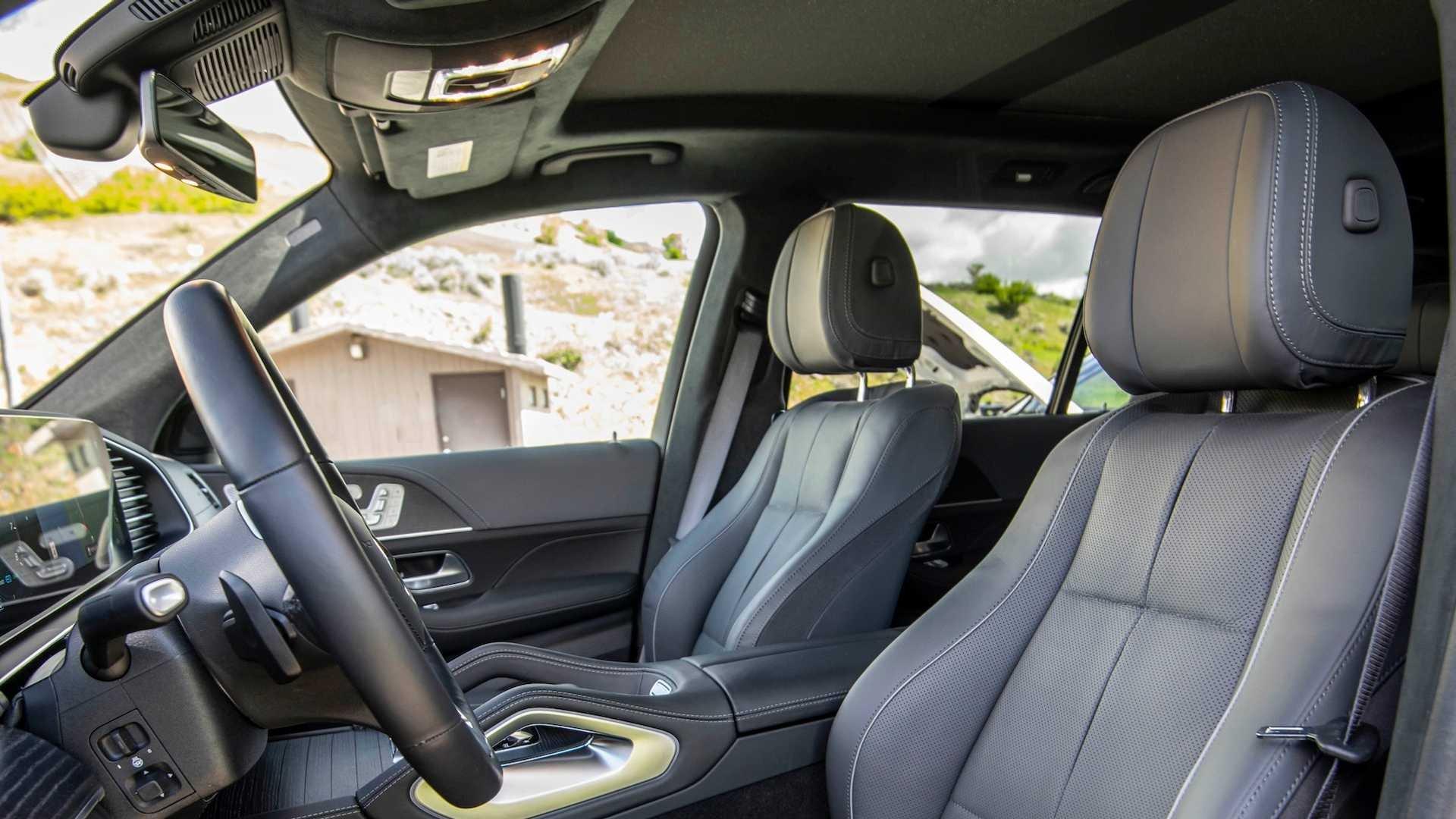 Ghế ngồi của Mercedes-Benz GLS-Class 2020 thế hệ mới.