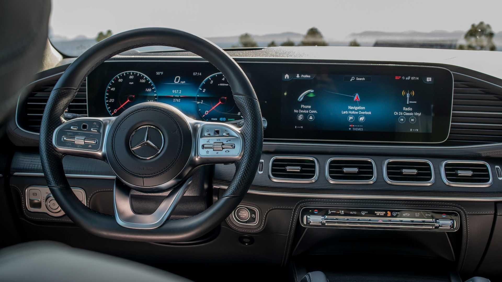 Đánh giá xe Mercedes-Benz GLS-Class 2020 về bảng táp-lô