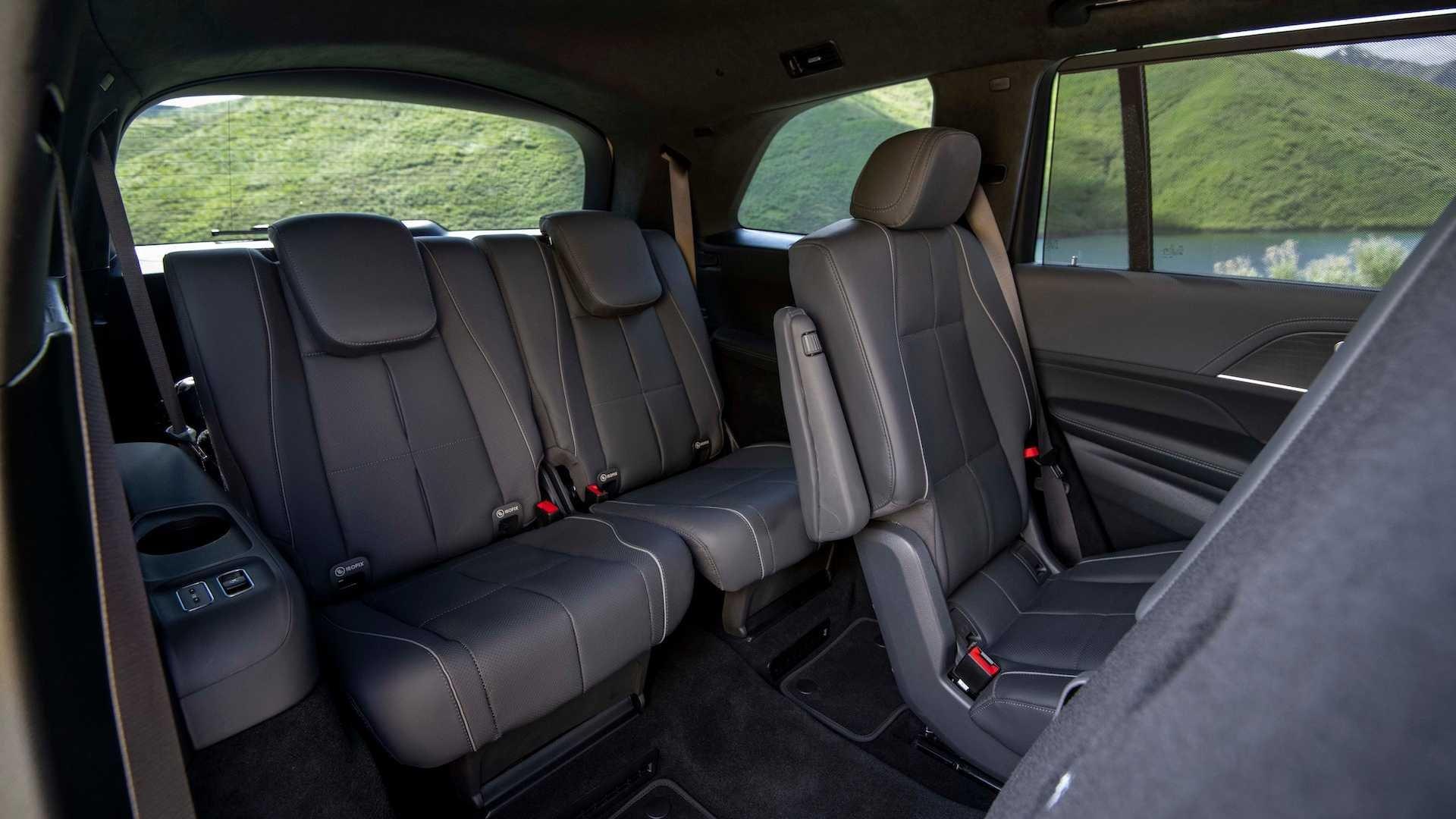 Hàng ghế 3 trên Mercedes-Benz GLS-Class 2020 thế hệ mới.