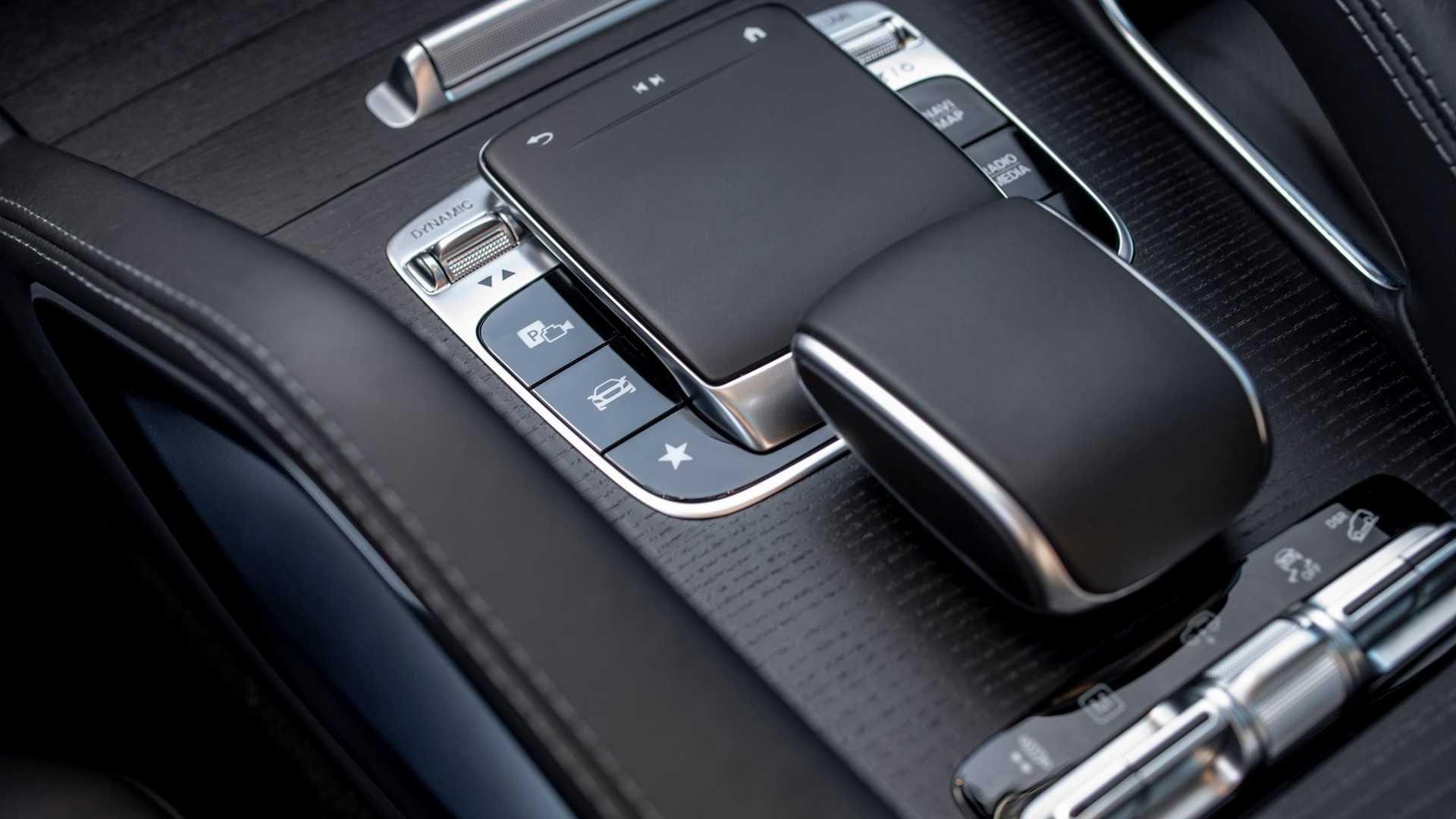 Cần số của Mercedes-Benz GLS-Class 2020.