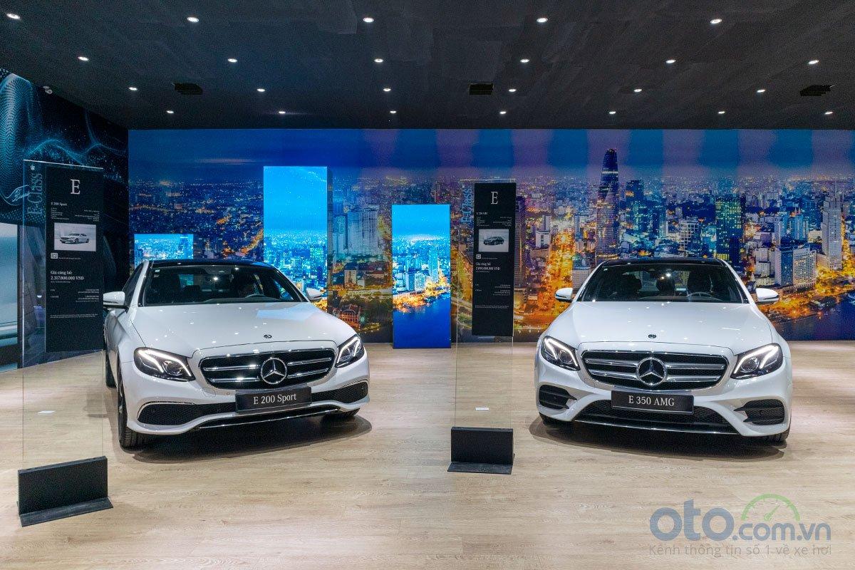 Bộ đôi E 200 và E 200 Sport sẽ là mẫu xe sedan hạng sang cỡ trung chủ lực của Mercedes-Benz tại Việt Nam.