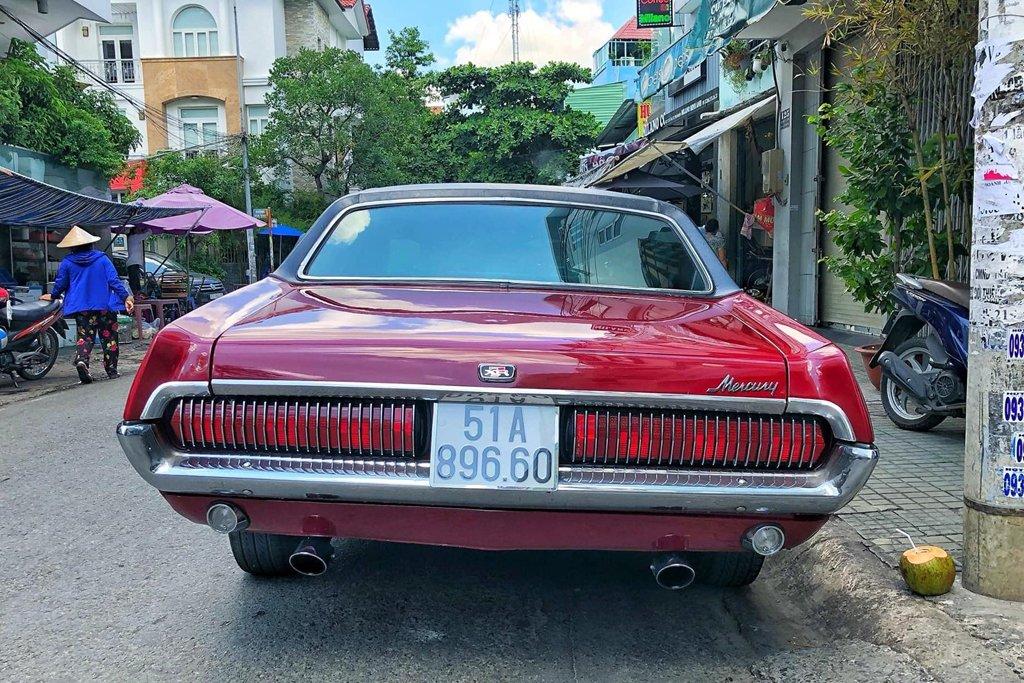 Rapper Việt tậu chi tiền tỷ sắm xế cổ Mercury Cougar 1968 a3