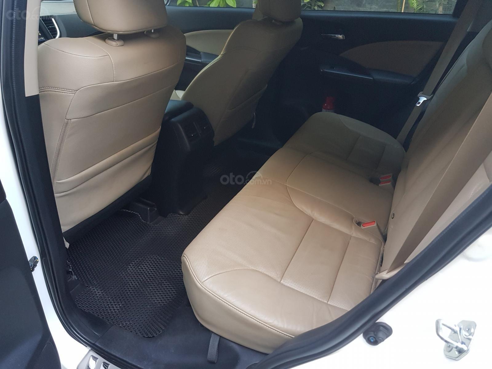 Bán ô tô Honda CR V 2.0 AT đời 2015, màu trắng giá cạnh tranh (7)