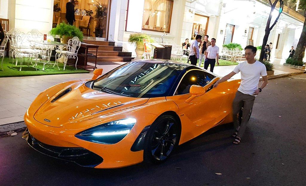Cường Đô La tái xuất McLaren 720S trên phố sau khi bỏ qua Car Passion 2019 10a
